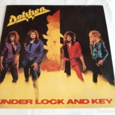 Discos de vinilo: DOKKEN -UNDER LOCK AND KEY- (1985) LP DISCO VINILO. Lote 262293265