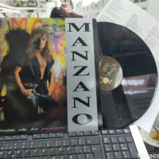 Discos de vinilo: MANZANO LP AL LÍMITE DE LA PASIÓN 1990. Lote 262293330