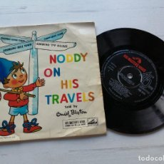 Discos de vinilo: ENID BLYTON – NODDY ON HIS TRAVELS EP UK 1959 VINILO VG++/PORTADA VG. Lote 262293500