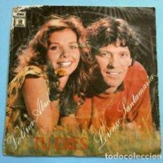 Discos de vinilo: VICTORIA ABRIL Y LORENZO SANTAMARIA (SINGLE 1979) TU ERES - SER. Lote 262295145