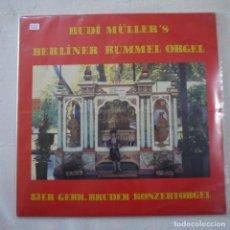Discos de vinilo: RUDI MÜLLER'S - BERLINER RUMMEL ORGEL - LP 1979 GERMANY. Lote 262295660