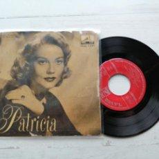 Discos de vinilo: PATRICIA EP SPAIN 1958 VG/VG ORQUESTA ORQUESTA. Lote 262296205