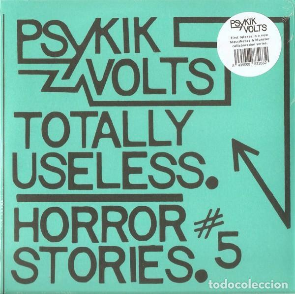 PSYKIK VOLTS* SINGLE VINILO * TOTALLY USELESS * PUNK CLASH SEX PISTOLS ADVERTS * PRECINTADO (Música - Discos - Singles Vinilo - Punk - Hard Core)