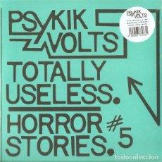 Discos de vinilo: PSYKIK VOLTS* SINGLE VINILO * TOTALLY USELESS * PUNK CLASH SEX PISTOLS ADVERTS * PRECINTADO. Lote 262299600