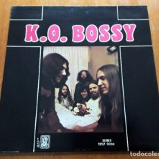 Discos de vinilo: K.O. BOSSY S/T 1969 BLUESY/COUNTRIFIED FOLK ROCK USA ORIG LP. Lote 262300235