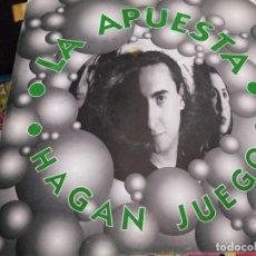 """Discos de vinilo: LA APUESTA - HAGAN JUEGO (7"""", SINGLE) SELLO:PSM RECORDS PSM-11009-S.VINILO COMO NUEVO.MINT/VG+. Lote 262304475"""