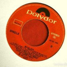 Discos de vinilo: MIGUEL RIOS (SINGLE 1982) BIENVENIDOS - EL RIO - SANTA LUCIA (SIN FUNDA ORIGINAL). Lote 262311090