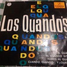 Discos de vinilo: SINGLE DE LOS QUANDOS. Lote 262311555