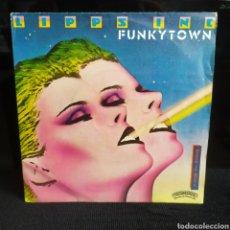 Discos de vinilo: LIPPS INC - FUNKYTOWN 1980. Lote 262312035