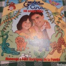 Discos de vinilo: SINGLE DE ENRIQUE Y ANA MI AMIGO FÉLIX. Lote 262312045