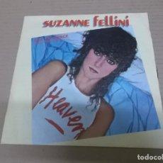 Discos de vinilo: SUZANNE FELLINI (SINGLE) BAD INFLUENCE AÑO 1981. Lote 262319530