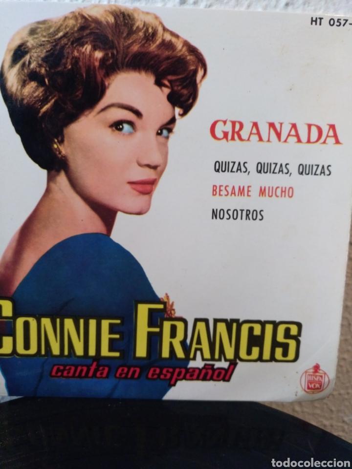 CONNIE FRANCIS.** GRANADA * QUIZAS, QUIZÁS, QUIZAS * BÉSAME MUCHO* NOSOTROS** (Música - Discos de Vinilo - EPs - Solistas Españoles de los 50 y 60)