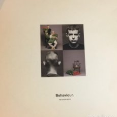 Discos de vinilo: PET SHOP BOYS - BEHAVIOUR. Lote 262320795