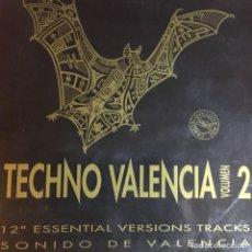 Discos de vinilo: TECHNO VALENCIA VOLUMEN 2. Lote 262321515