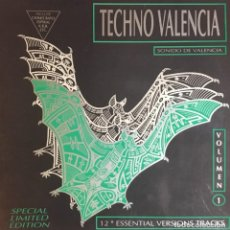 Discos de vinilo: TECHNO VALENCIA VOLUMEN 1. Lote 262321580