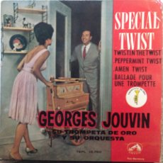 Discos de vinilo: GEORGES JOUVIN.** SPECIAL TWIST **. Lote 262322140