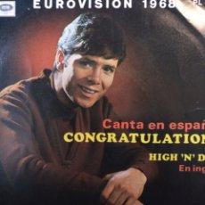 Discos de vinilo: CLIFF RICHARD.** CONGRATULATIONS * HIGH AND DRY **. Lote 262322335