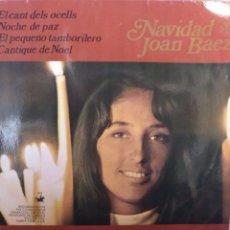 Discos de vinilo: JOAN BAEZ.** NAVIDAD CON...**. Lote 262323265
