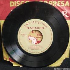 Discos de vinilo: DISCO SORPRESA FUNDADOR - CANCIÓN MEXICANA 1964. Lote 262347825