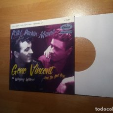 Discos de vinilo: GENE VINCENT , PORTADA FICTICIA ,( NO INCLUYE DISCO ). Lote 262352795