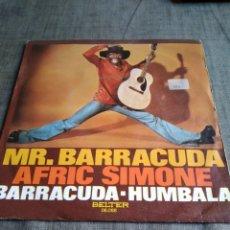 Discos de vinilo: SINGEL BARRACUDA AFRIC SIMONE. Lote 262361260