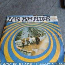 Discos de vinilo: SINGEL LOS BRAVOS. Lote 262363895