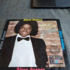 Discos de vinilo: SINGEL MICHAEL JACSON DISCO AVANCE NO PARES. Lote 262365340