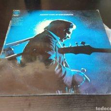 Discos de vinilo: JOHNNY CASH AT SAM QUENTIN. Lote 262369550
