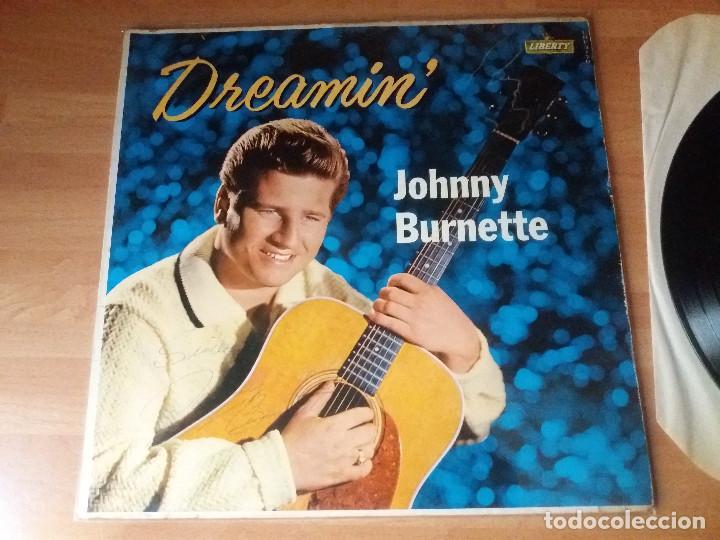 Discos de vinilo: Johnny burnette , disco autografiado original 1960. - Foto 6 - 262370890