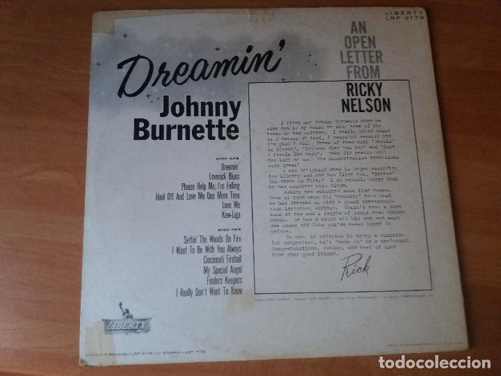 Discos de vinilo: Johnny burnette , disco autografiado original 1960. - Foto 7 - 262370890