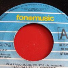 Discos de vinilo: LOS CALIS.** PLÁTANO MADURO * ESPINAS **. Lote 262372090