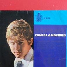 Discos de vinilo: RAPHAEL.** CANTA LA NAVIDAD **. Lote 262372925
