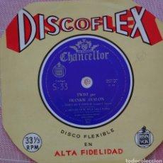 Discos de vinilo: FRANKIE AVALON SINGLE DISCOFLEX EDITADO POR EL SELLO HISPAVOX AÑO 1962.... Lote 262374125