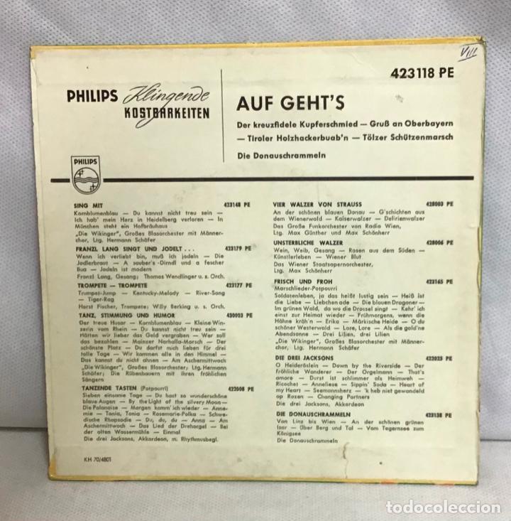Discos de vinilo: AÙF GEHT'S, DISCO - Foto 2 - 262374770