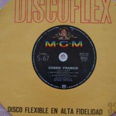 Discos de vinilo: CONNIE FRANCIS CANTA EN ESPAÑOL SINGLE DISCOFLEX EDITADO EN ESPAÑA POR EL SELLO M-G-M...AÑO 1962.... Lote 262375480