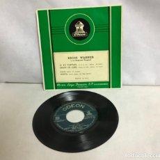 Discos de vinilo: EDDIE WARNER Y SU ORQUESTA TROPICAL, DISCO. Lote 262377365