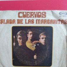 Discos de vinilo: ALMAS HUMILDES.** BALADA DE LAS MARGARITAS * CUERVOS **. Lote 262378495