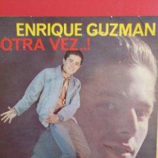Discos de vinilo: ENRIQUE GUZMÁN.** DAME FELICIDAD* VEN A MI * OYE * AH! QUE BUENO **. Lote 262378910