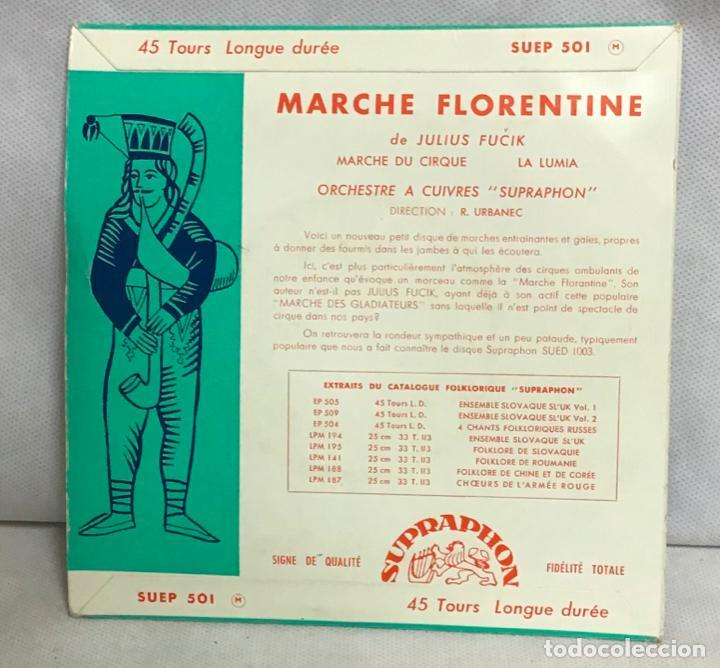 Discos de vinilo: MARCHE FLORENTINE, DISCO - Foto 2 - 262379025