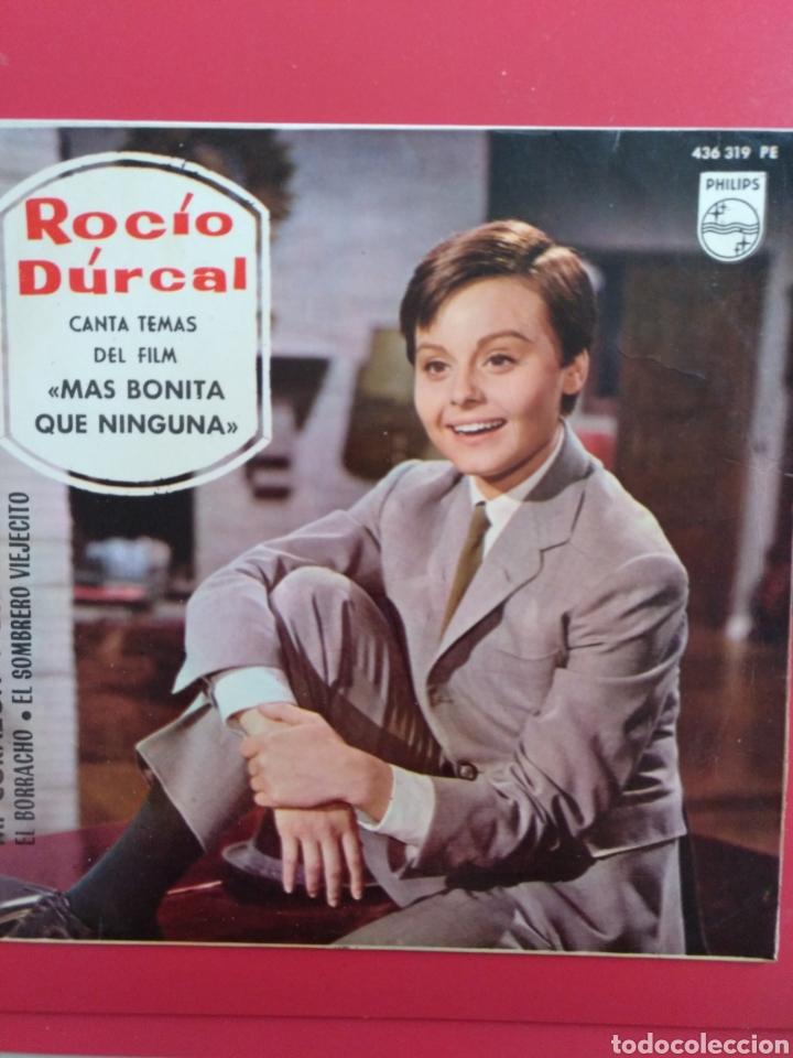 ROCIO DURCAL.** MI CORAZÓN * LOS DOS * EL BORRACHO * EL SOMBRERO VIEJECITO ** (Música - Discos de Vinilo - EPs - Solistas Españoles de los 50 y 60)