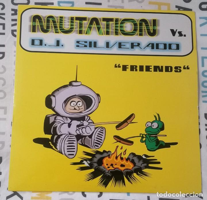 MAXI-SINGLE: MUTATION VS. D.J. SILVERADO - FRIENDS / OLIMPIC PRINTER / HARD ATTACK - VALEMUSIC, 1999 (Música - Discos de Vinilo - Maxi Singles - Techno, Trance y House)