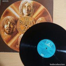 Disques de vinyle: THE BEATLES · 20 ÉXITOS DE ORO · EMI-ODEON 1979, SPAIN. Lote 262381215