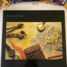 Disques de vinyle: FINIS AFRICAE-AMAZONIA-PRIMERA EDICION-1990-CON LIBRETO-NUEVO LO ESTRENAS TU-OPORTUNIDAD. Lote 262384860
