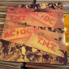 Discos de vinilo: AC/DC TNT DISCO DE VINILO NARANJA AUSTRALIA REEDICION DESCATALOGADO. Lote 262387855