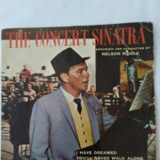Discos de vinilo: THE CONCERT SINATRA,FRANK SINATRA EP. Lote 262395375
