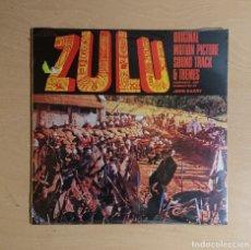 Discos de vinilo: ZULU · ORIGINAL MOTION PICTURE SOUND TRACK & THEMES · JOHN BARRY · PRECINTADA! NEW. Lote 262402680