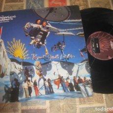 Discos de vinilo: THE CHEMICAL BROTHERS LEAVE HOME (1995 VIRGIN ) OG ENGLAND DESCRIPCION. Lote 262403650