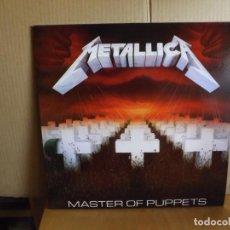 Discos de vinilo: METALLICA --- MASTER OF PUPPETS. Lote 262411920