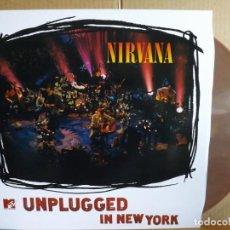 Discos de vinilo: NIRVANA ---- UNPLUGGED IN NEW YORK. Lote 262412625