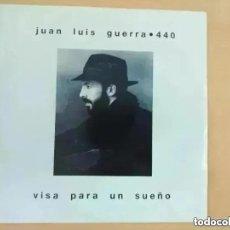 Discos de vinilo: JUAN LUIS GUERRA - VISA PARA UN SUEÑO (SG) 1990. Lote 262414870